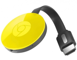 Google Chromecast 2 Video Transmiter Wi-Fi Żółty