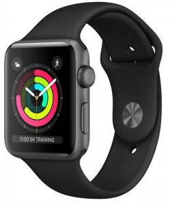 Apple Watch Series 3 (GPS) LTE 42mm Space Grey