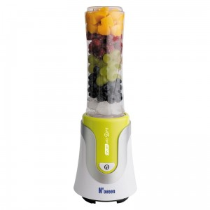 Blender N'OVEEN Sport Mix & Fit SB550, kolor zielony **2 BIDONY + ETUI SPORTOWE**