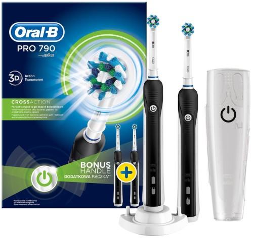 Szczoteczka Do Zębów Braun Oral B Pro 790 Elektryczna 2 Sztuki W